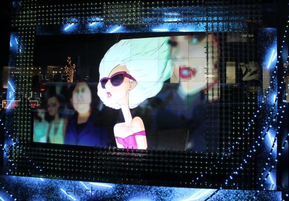 Barney´s Lady Gaga
