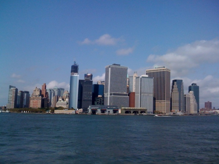 Zona Financiera desde Governors Island