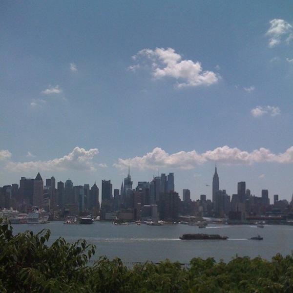 Rascacielos desde Hoboken