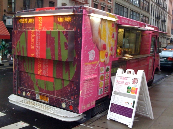 Pressed Juice Food Truck