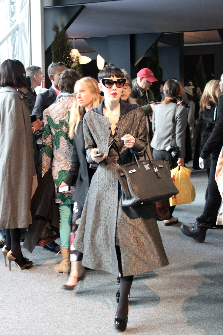 Michelle Harper - Invitada habitual de los eventos de moda en NY