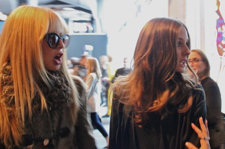 Rachel Zoe (Diseñadora y estilista) & Olivia Palermo (it girl)