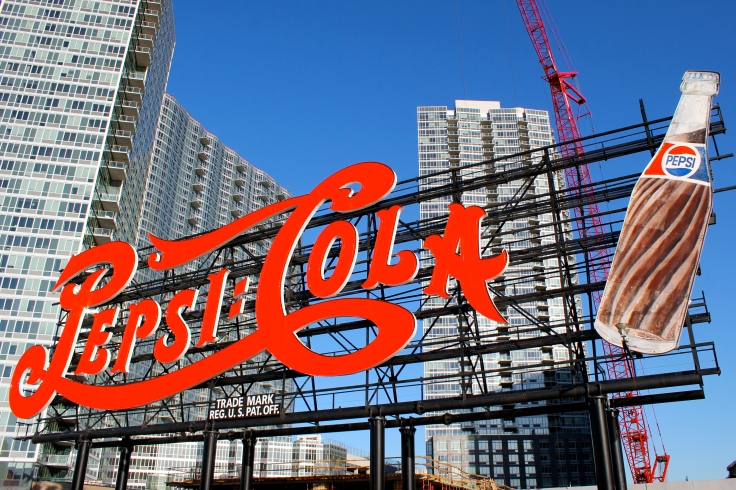 Cartel Pepsi Cola Long Island City