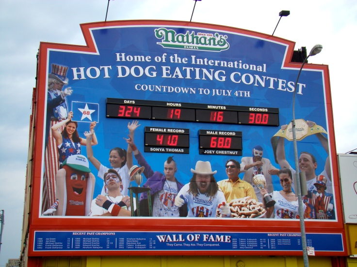 Coney Island - Concurso Perritos Calientes