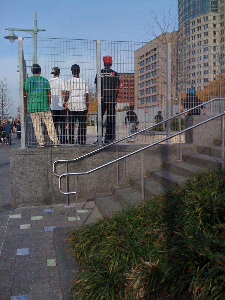 Pista de Patinaje gratuita Battery Park