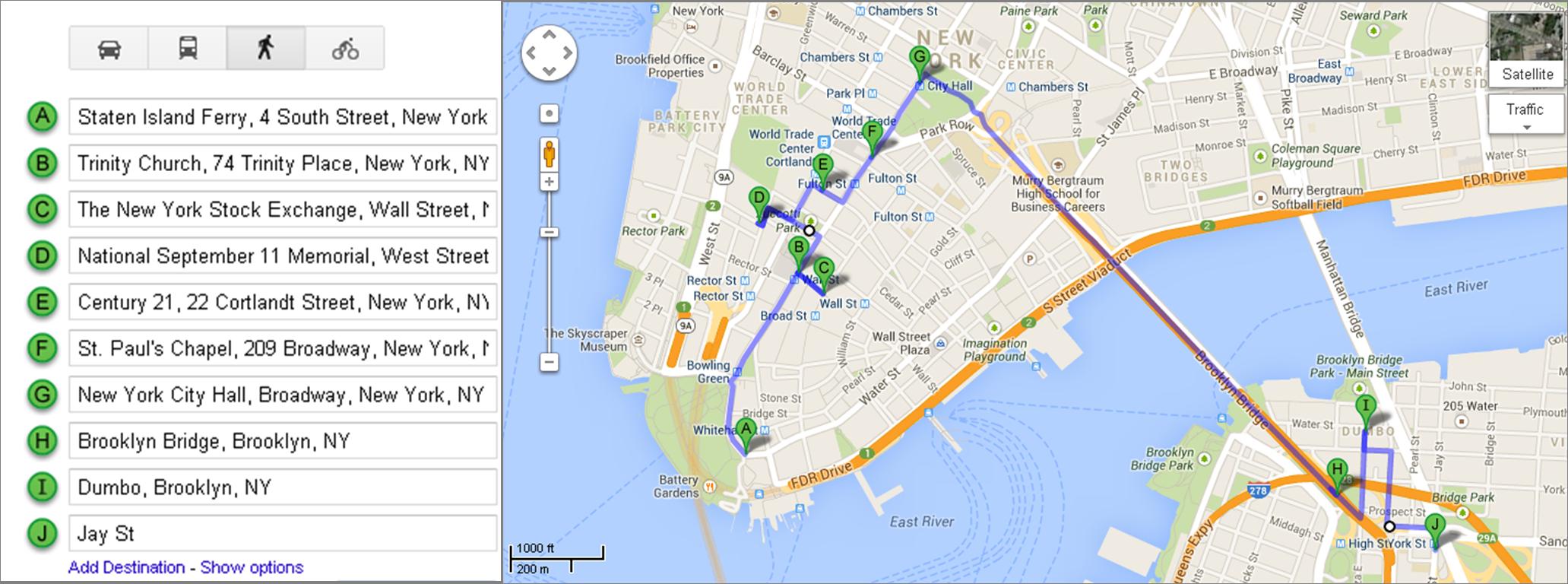5 D 237 As 5 Itinerarios D 237 A 1 Downtown Manhattan Y Dumbo Nuestro Nueva York