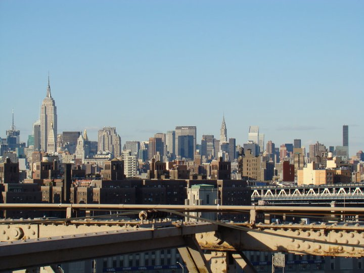 Vistas de Mahattan desde Brooklyn Bridge