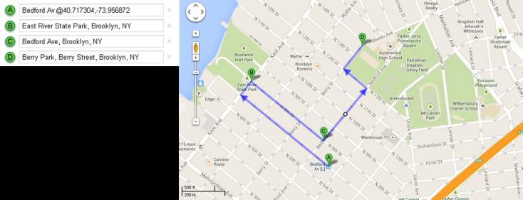 Mapa Recorrido Día 5 – Williamsburg + Berry Park