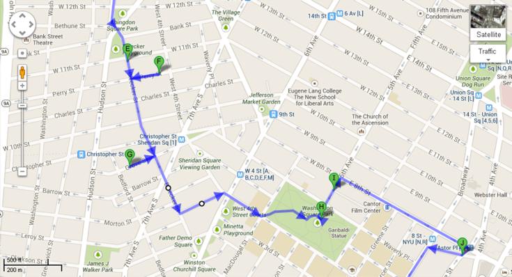 Mapa Recorrido Día 4 - 2a Parte