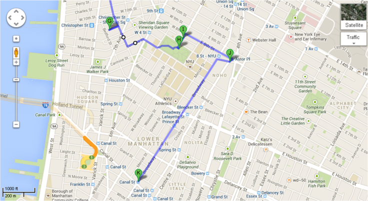 Mapa Recorrido Día 4 - 3a Parte