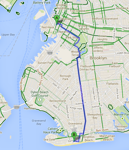 Carroll Gardens hacia Coney Island