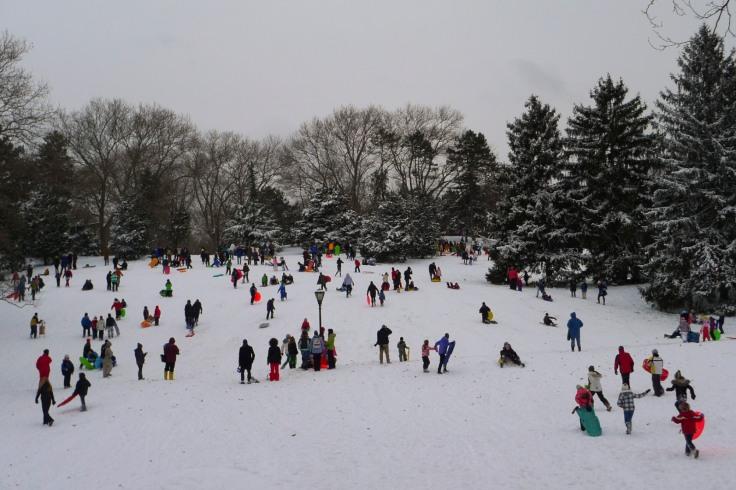 Central Park en Navidad. Google Imágenes