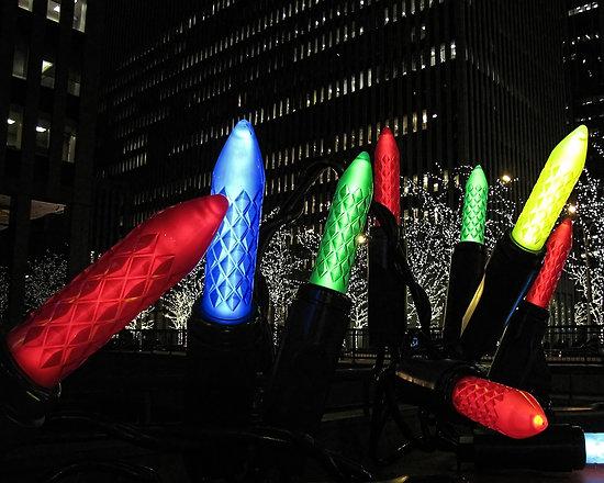 Luces Navidad Nueva York. Google Imágenes