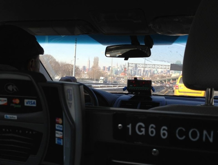 Taxi a Manhattan Javi Sanchez