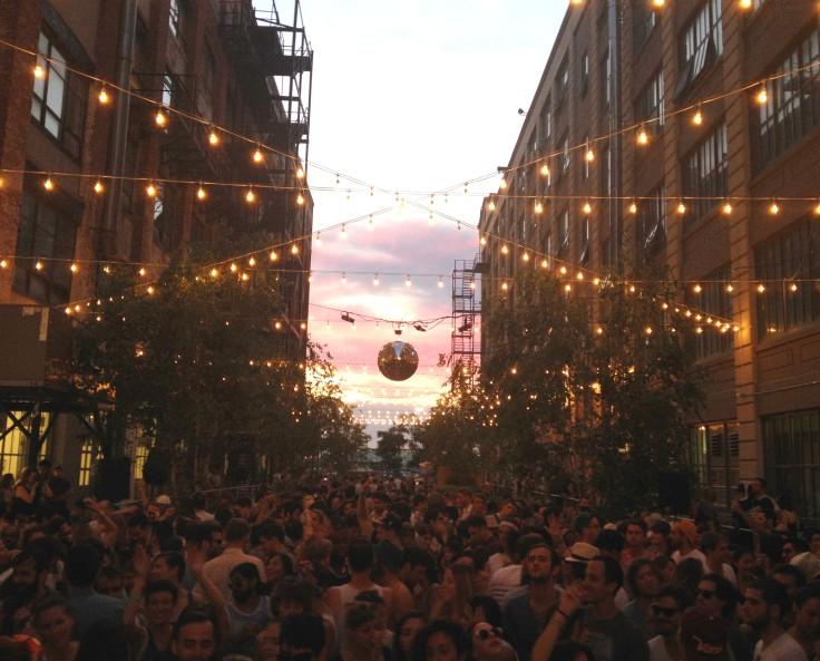 La fiesta del verano en Brooklyn