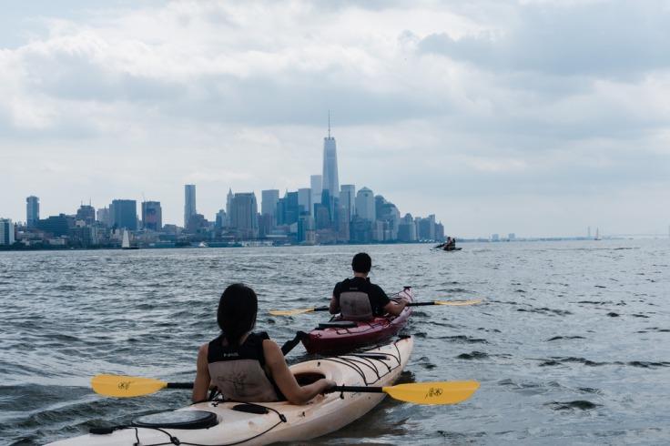Kayaking Hudson @ Dan Nguyen